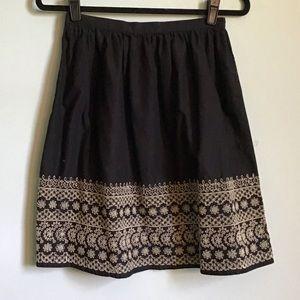 Michael Kors Eyelet Skirt